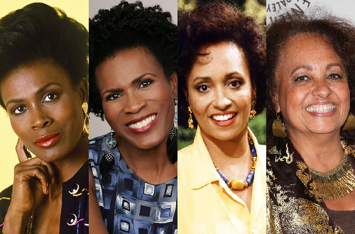 Janet Hubert and Daphne Reid as Vivian Banks