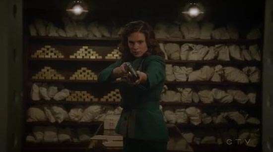 Haley Atwell as Peggy Carter